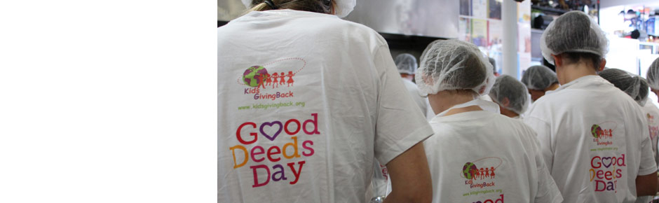 We've launched Good Deeds Day in Australia – March 2014