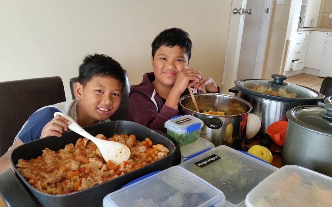 2 more families to make lunches for Asylum Seekers Centre clients – school holidays