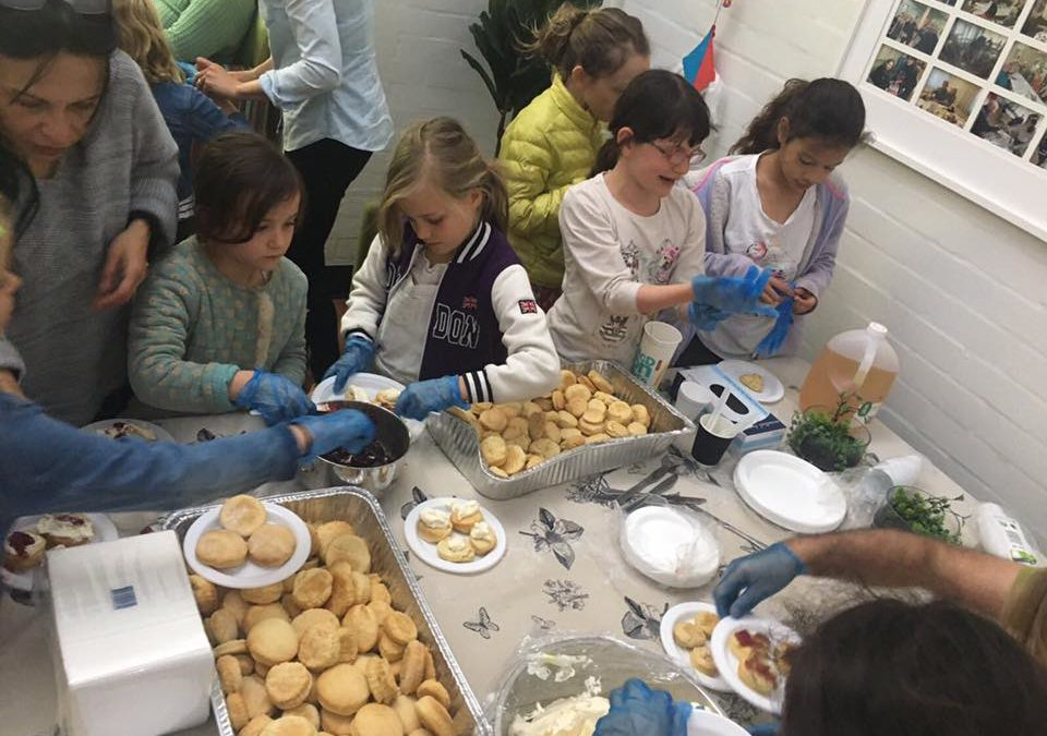 Nicholson Street Public students make Scones4Good