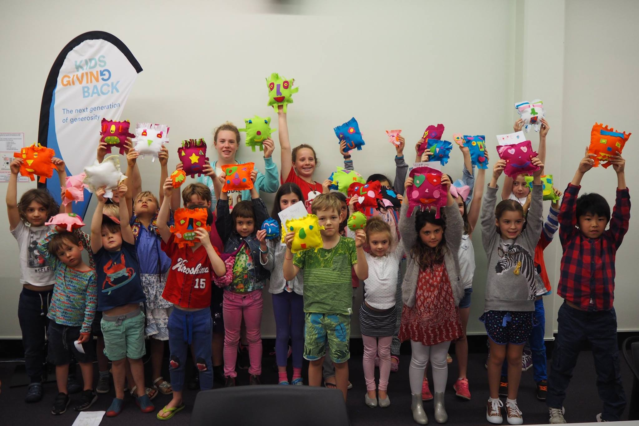 Sew4Good – kids make 'softies' for kids living in shelters