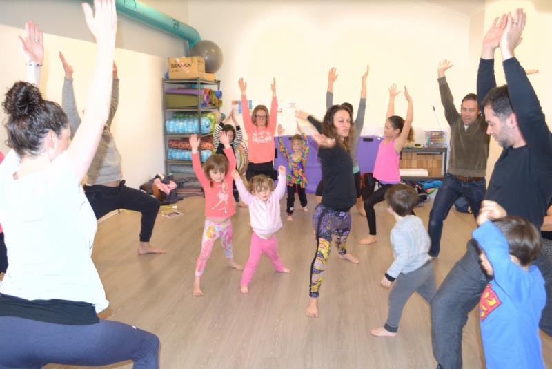 Family yoga to benefit Women's Community Shelters