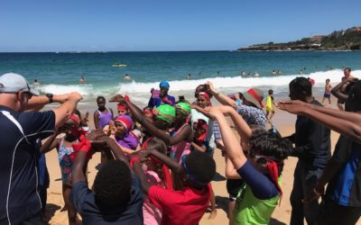 Connect4Good and the HARDA Sudanese community reconnect at Coogee Beach