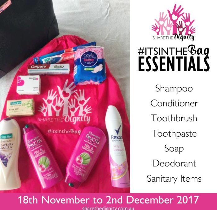 It's In The Bag – your family can make a difference to homeless women at Christmas time