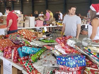 Christmas Volunteering for the whole family – Sydney Basket Brigade Packing Day