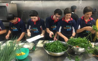 Newcastle Grammar School takes part in a Cook4Good:Melting Pot program!