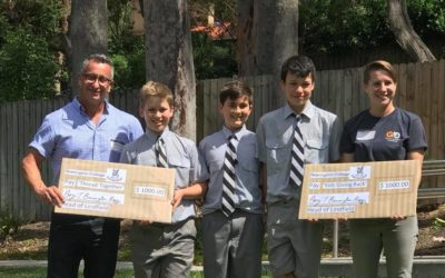 Newington College Lindfield donate generously to Kids Giving Back!