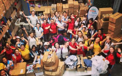 This is what hands on, meaningful volunteering looks like: