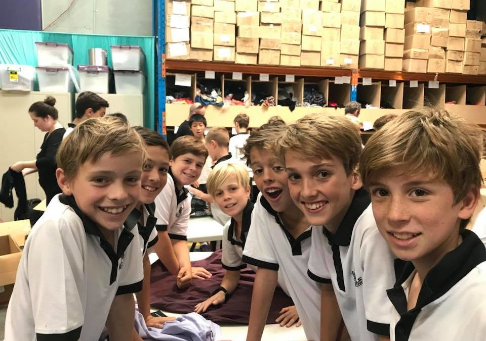 Newington College Lindfield Year 6 lived their school motto: