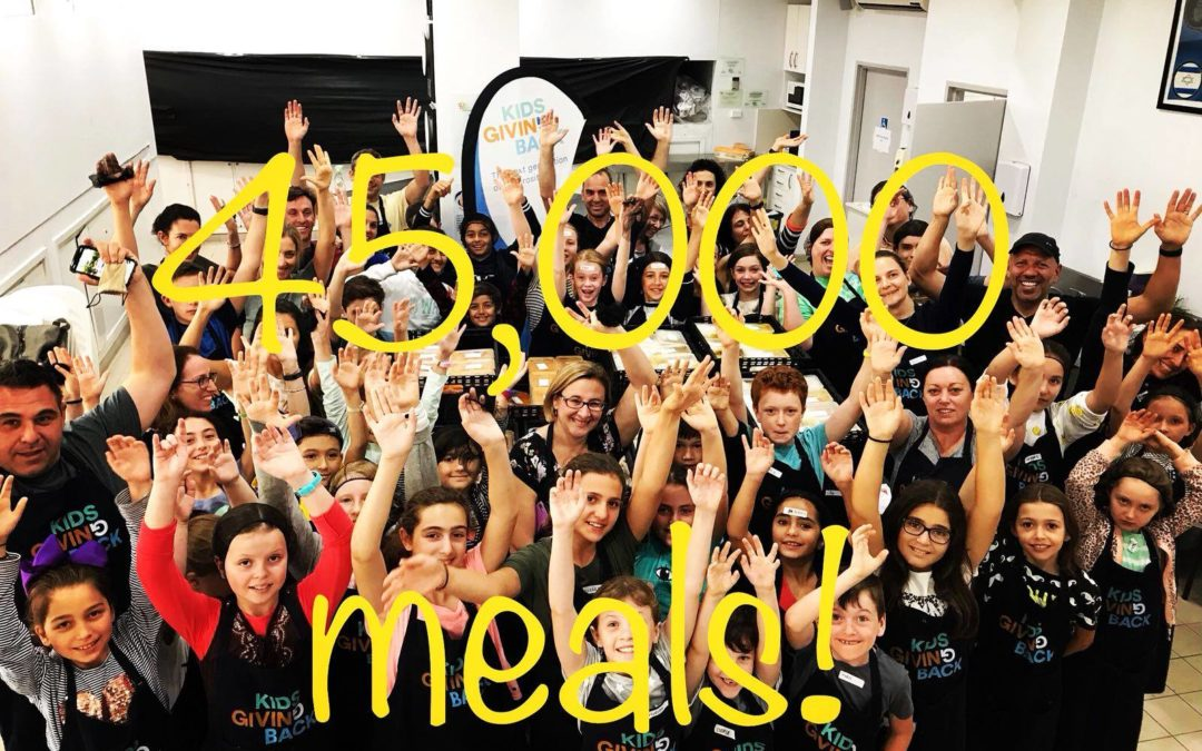 Hot off the Press!!! We've just hit an amazing 45,000 meals