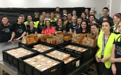 Hunter Valley Grammar students make a difference to Sydney homeless communities