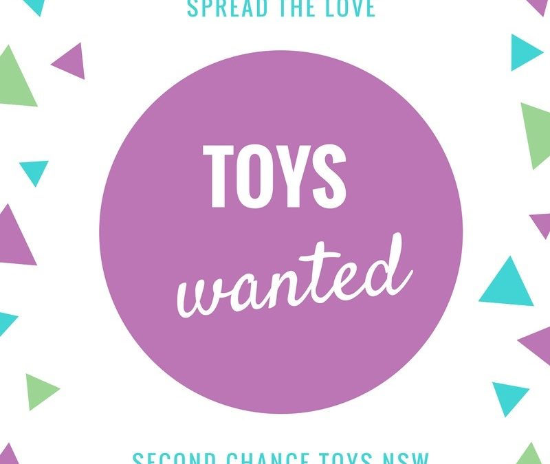 Second Chance Toys are looking for toys in good condition – get your kids busy sorting!