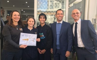 Bellevue Hill Public students Cook4Good thanks to the generosity of The Goldman Brothers