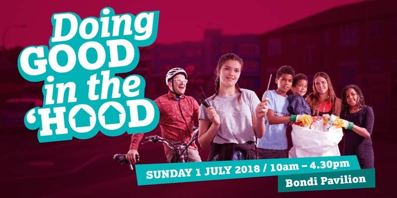 It's all happening at Doing Good in the 'Hood this Sunday, July 1