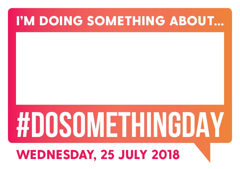 Wednesday July 25 is Do Something Near You Day
