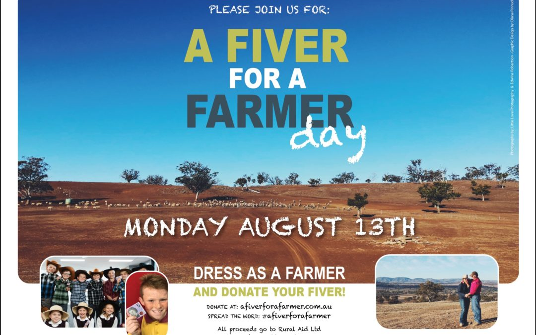 A Fiver for a Farmer – help our farmers survive NSW' worst drought ever