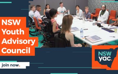 Applications are now open for the 2019 NSW Youth Advisory Council