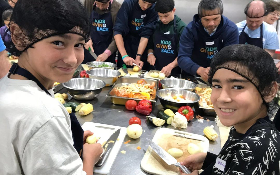 Dalmas House, Kings School lead the way at a 'closed community' Cook4Good