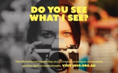 #WorldMentalHealthDay – Even the smallest step is a step forward