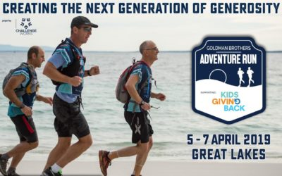 The Kids Giving Back-Goldman Brothers Adventure Run is ready for sign-ups!