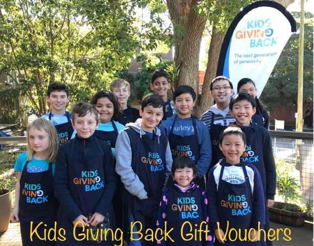 Bringing you… by popular demand…. the Kids Giving Back GIFT VOUCHER!