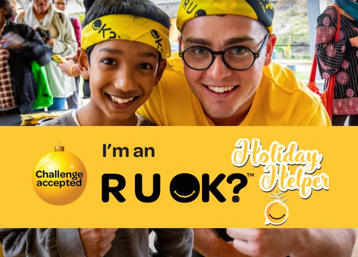 The R U OK Day Holiday Challenge is here