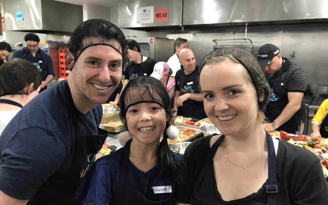 Shaw Partners take on a corporate family volunteering morning at Cook4Good