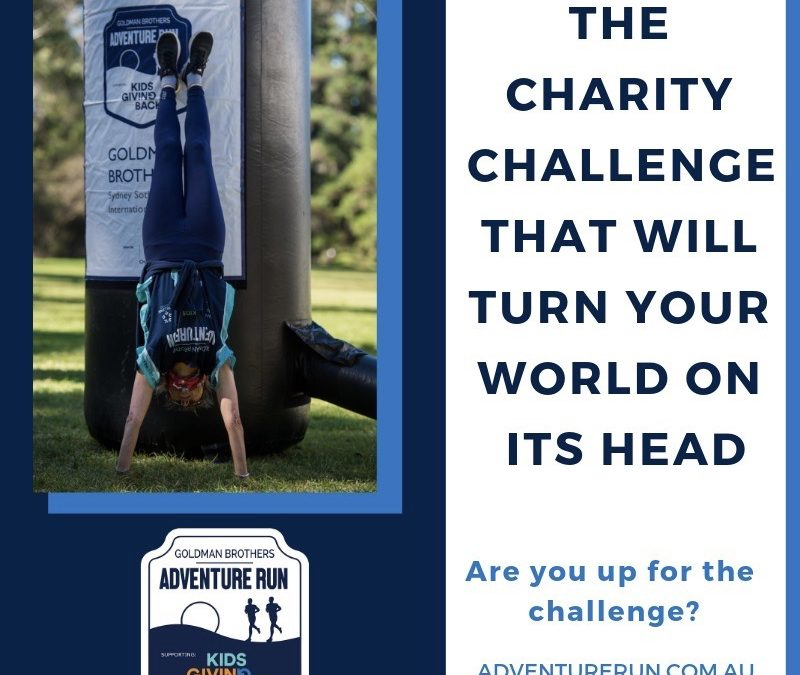 The Charity Challenge that will turn your world on its head