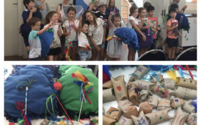"More crafty generosity at our ""Animal Love"" program!"