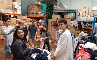 Hills Grammar students bring hearts and hands to Schools4Good