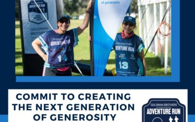 Just 2 days until our intrepid Adventure Runners are hiking the trails for Kids Giving Back