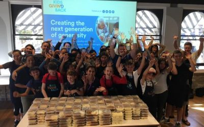 Friendship Pies lead the way at Cook4Dignity – letting recipients know that people genuinely care