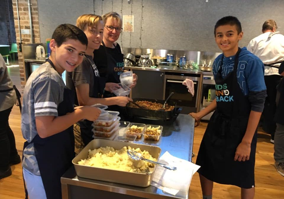 Cook4Dignity with the kids on Saturday mornings – book now!