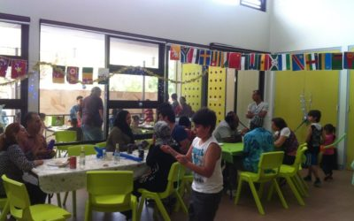 FAMILY HOLIDAY VOLUNTEERING! 13 families with kids age 5-16 years for House of Welcome Community lunch