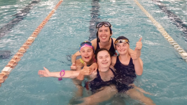 Teen volunteers 14+ for Special Olympics Swim Carnival
