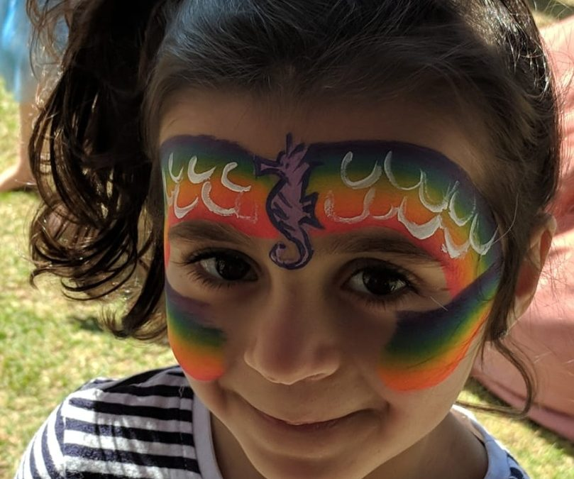TEEN VOLUNTEERS age 13+ to assist with Facepainting