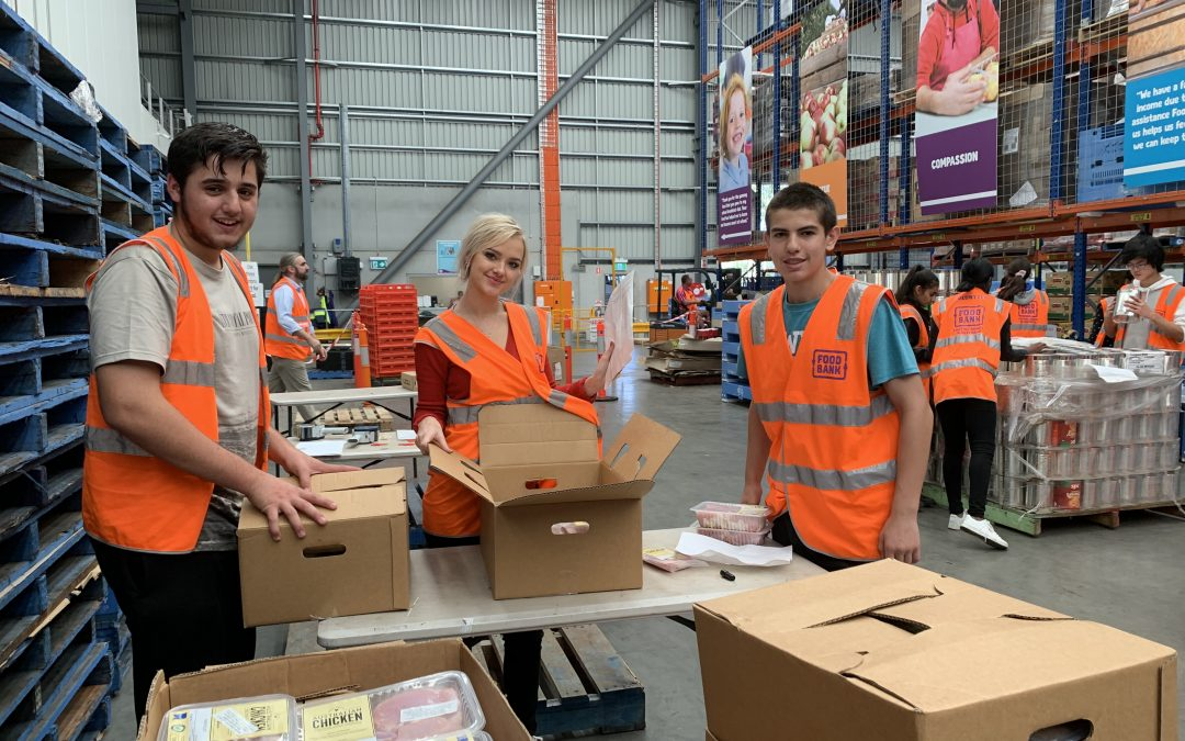 School Holiday Volunteering for Teens 15+ @Foodbank