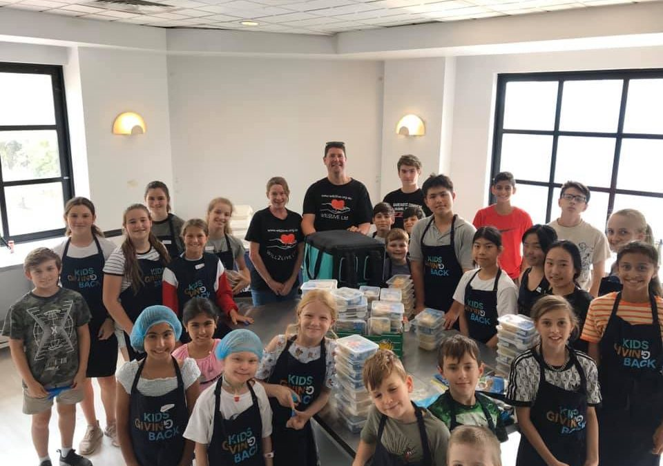 Our Helping Hands for the Homeless program made a big difference these School Holidays!