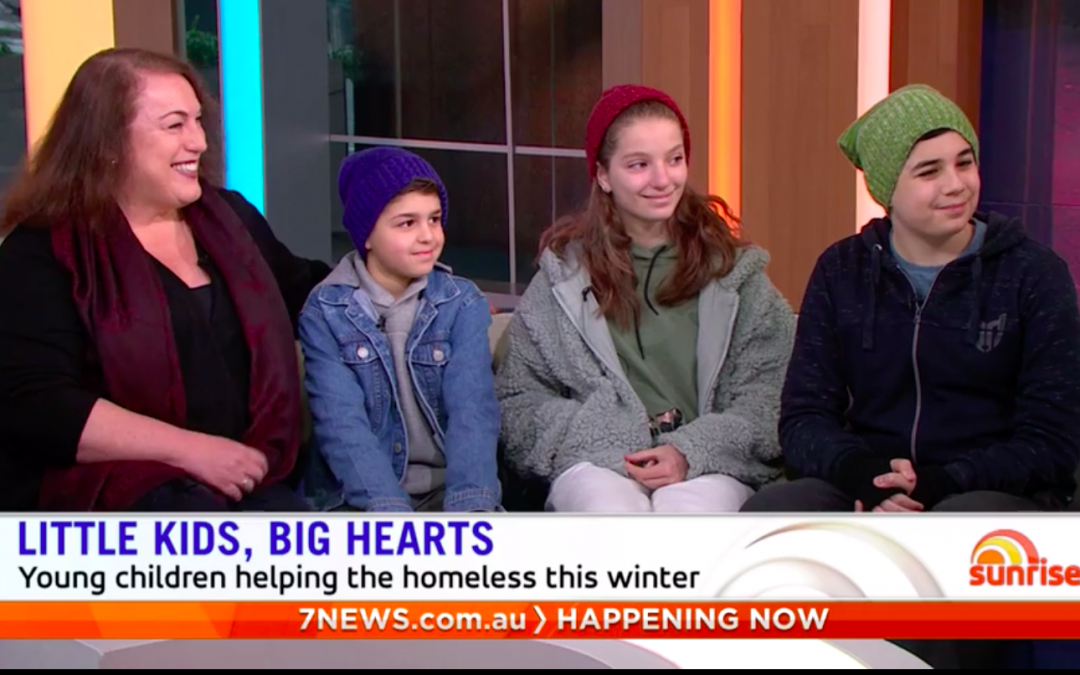 Watch our Warm4Winter campaign on Channel 7's Sunrise